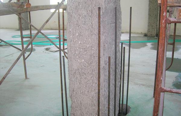 厂房柱子加固截面加固